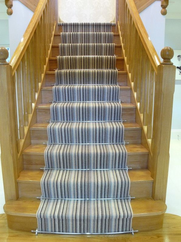 High Quality Striped Carpet Runners For Stairs
