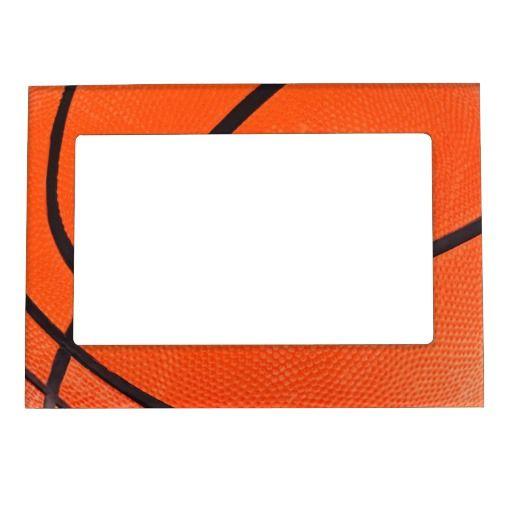 Sentimental Wedding Gift Ideas: Basketball Magnetic Photo Frame