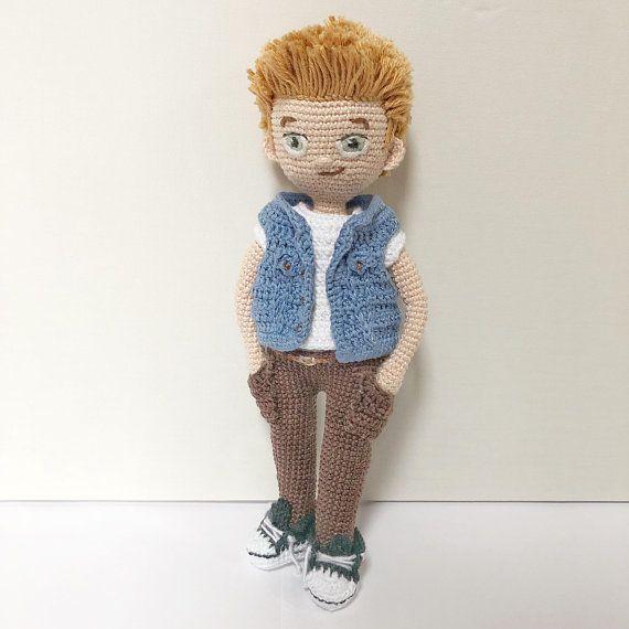 Jack & Harvey Bundle - Crochet Amigurumi Boy Doll Pattern - 2x PDF ...