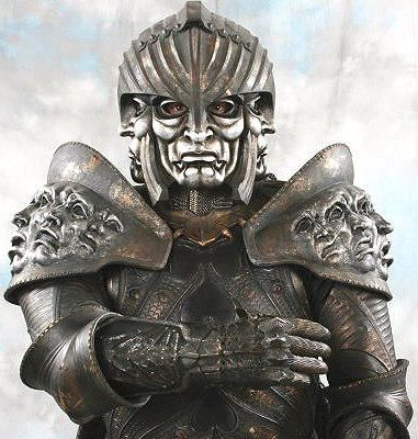 The Chronicles Of Riddick Life Size Lord Marshal Helmet Free