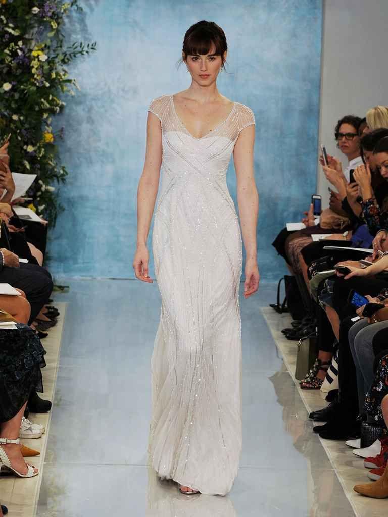 Silhouette wedding dresses simple bridal  Theia Fall  Simple Sexy Silhouettes  Bridal fashion week