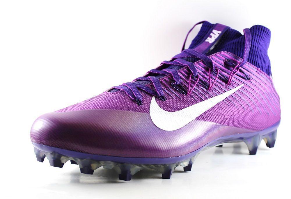 Nike Men's Vapor Untouchable 2 Football Cleats 850798 515 Court Purple/White 13