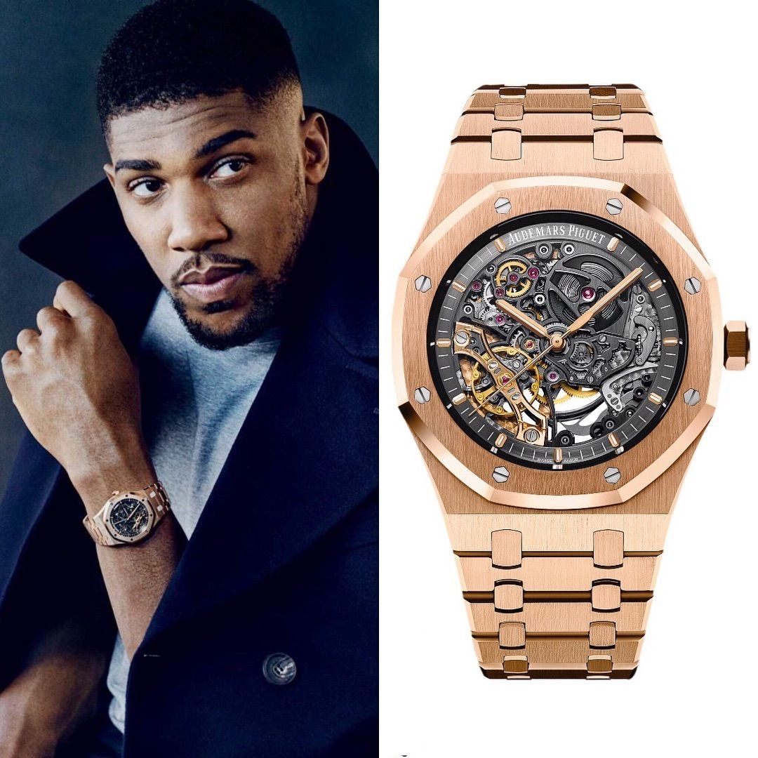 Anthony Joshua During The Shooting Was Wearing An Audemars Piguet