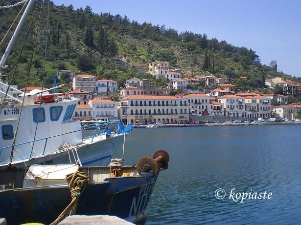 Gytheio- A beautiful seaside town in southern Greece. It used to be an important port until it was destroyed in 4th century AD, possibly by an earthquake. Today it is the largest and most important town in Mani, a municipality in the southern Peloponnese.