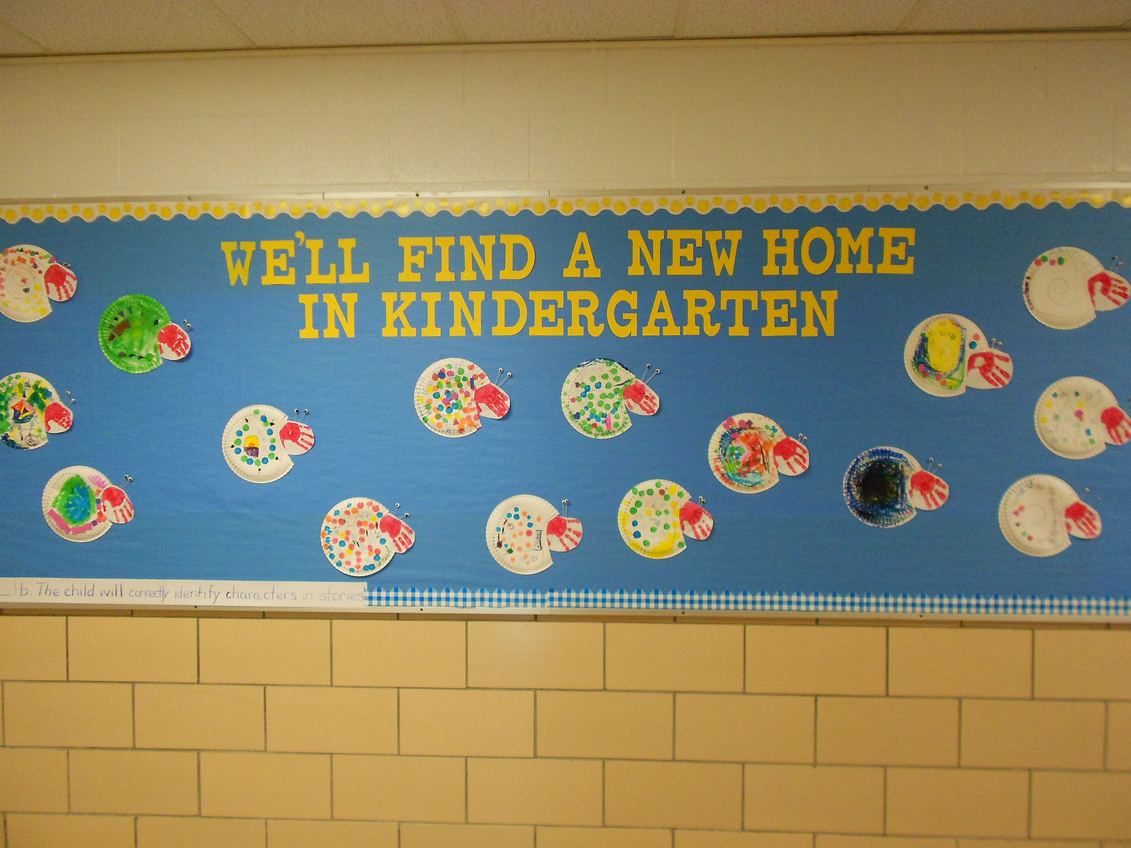 End Of The Year Pre K Bulletin Board To Go With A Home