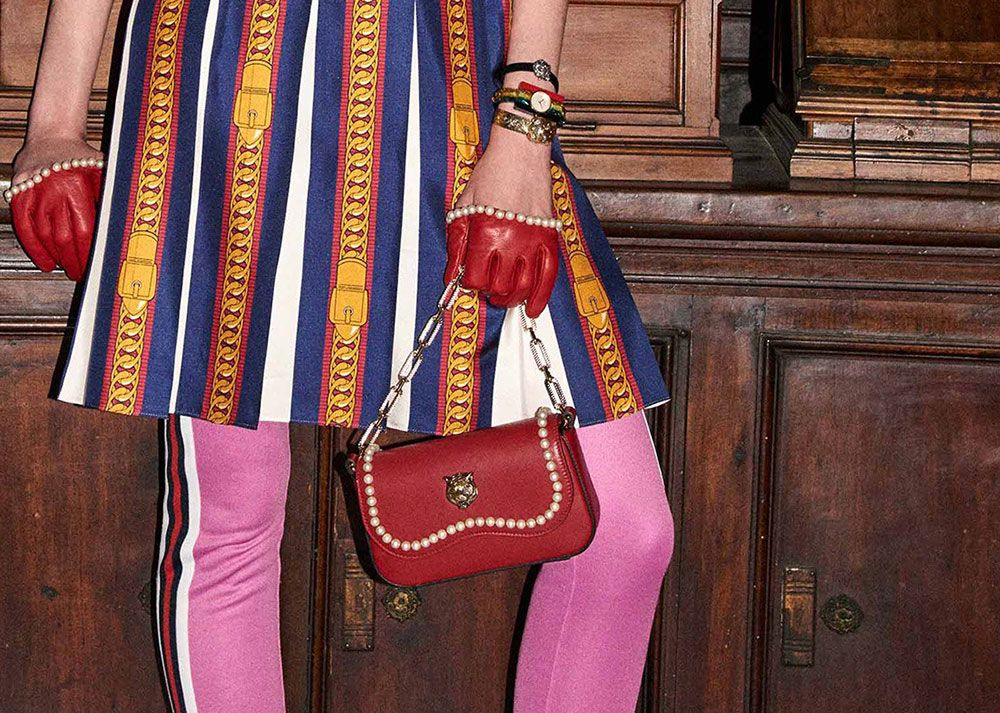 6770ca964040 Gucci is Back with Another Big, Embellishment-Heavy Bag Collection for  Pre-Fall 2017