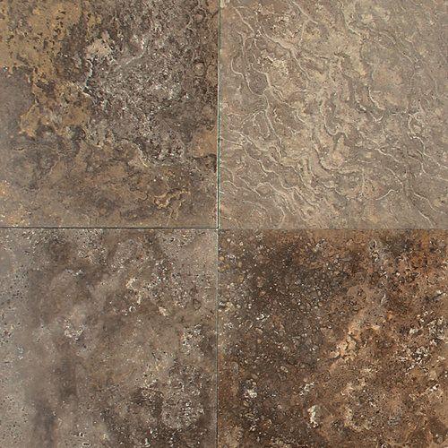 view the daltile t718 12121u travertine cafe au lait 12 x 12 honed stone multi surface tile at buildcom