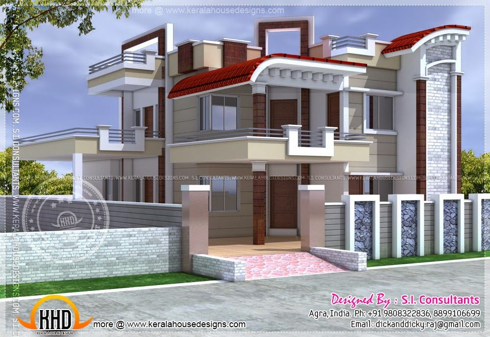 For Many Domestic Layout Is A Very Daunting Strategy Knowing In Which To Start Let Al Kerala House Design Indian House Exterior Design House Design Pictures