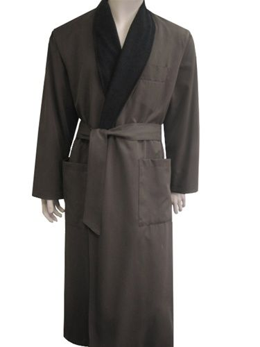 abebbf61ab Chocolate   Black Bathrobe