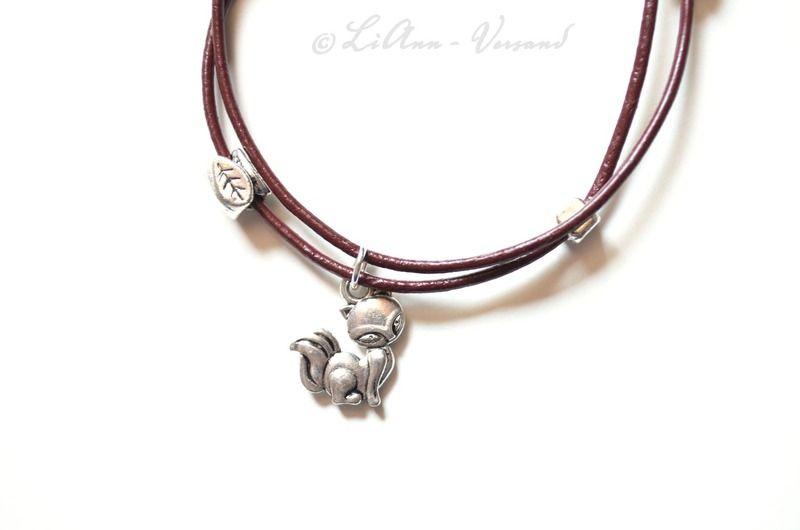 Armbänder - ✼ Kleiner Fuchs ✼ Armband - ein Designerstück von LiAnn-Versand bei DaWanda