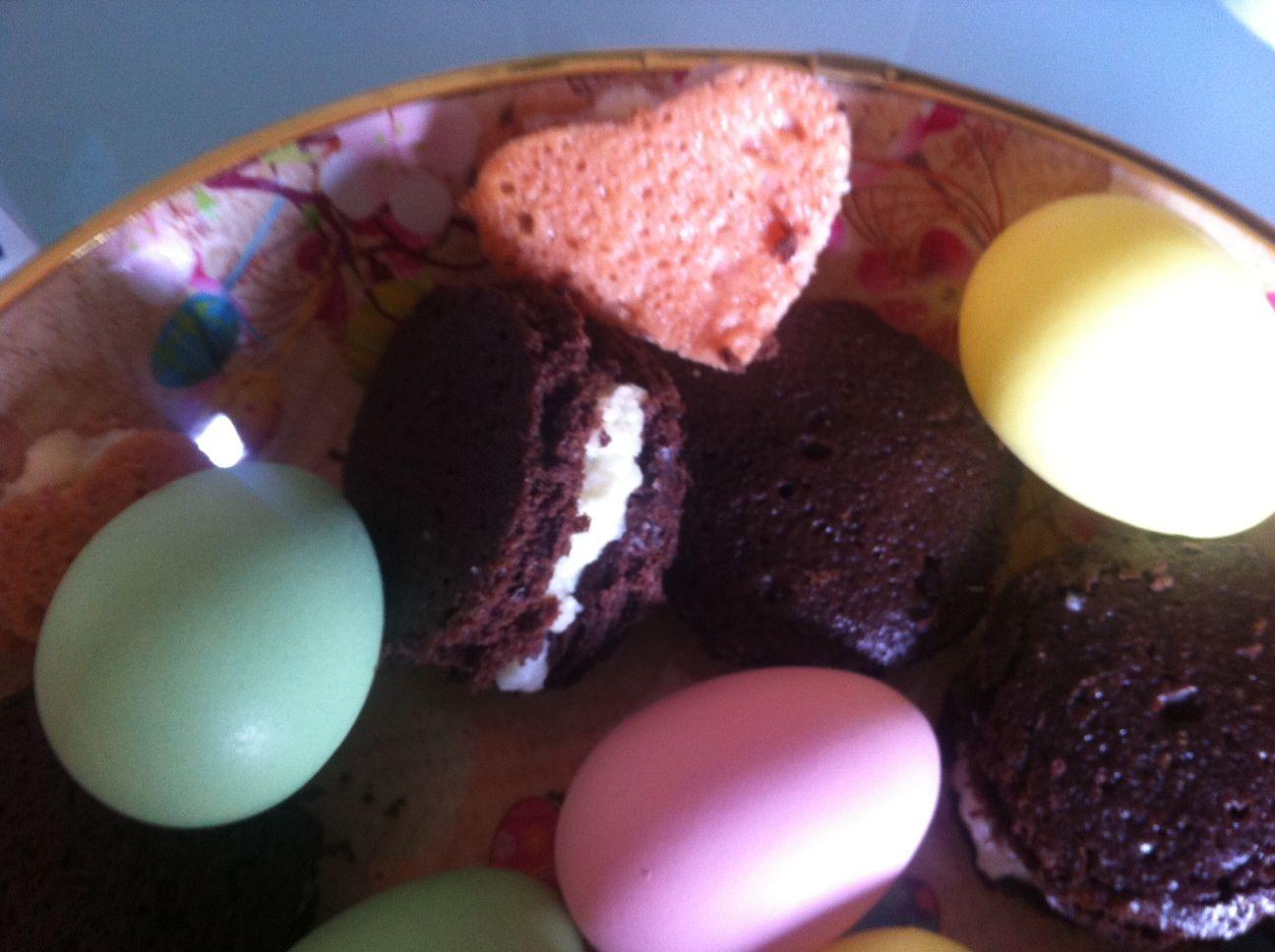 Whoopie pies e uova di pasqua