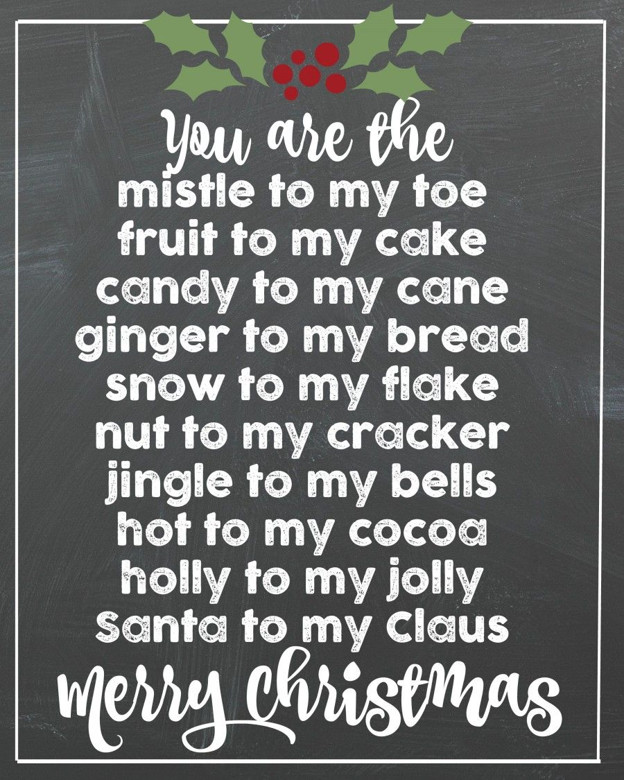 Christmas card printable. Christmas card messages
