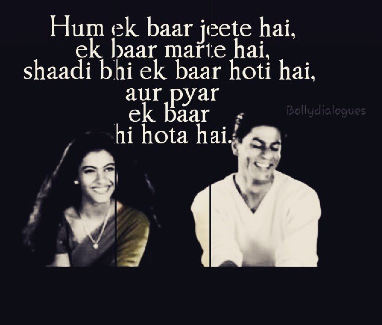 Kuch Kuch Hota Hai Bollywood Love Quotes Bollywood Quotes Kuch Kuch Hota Hai