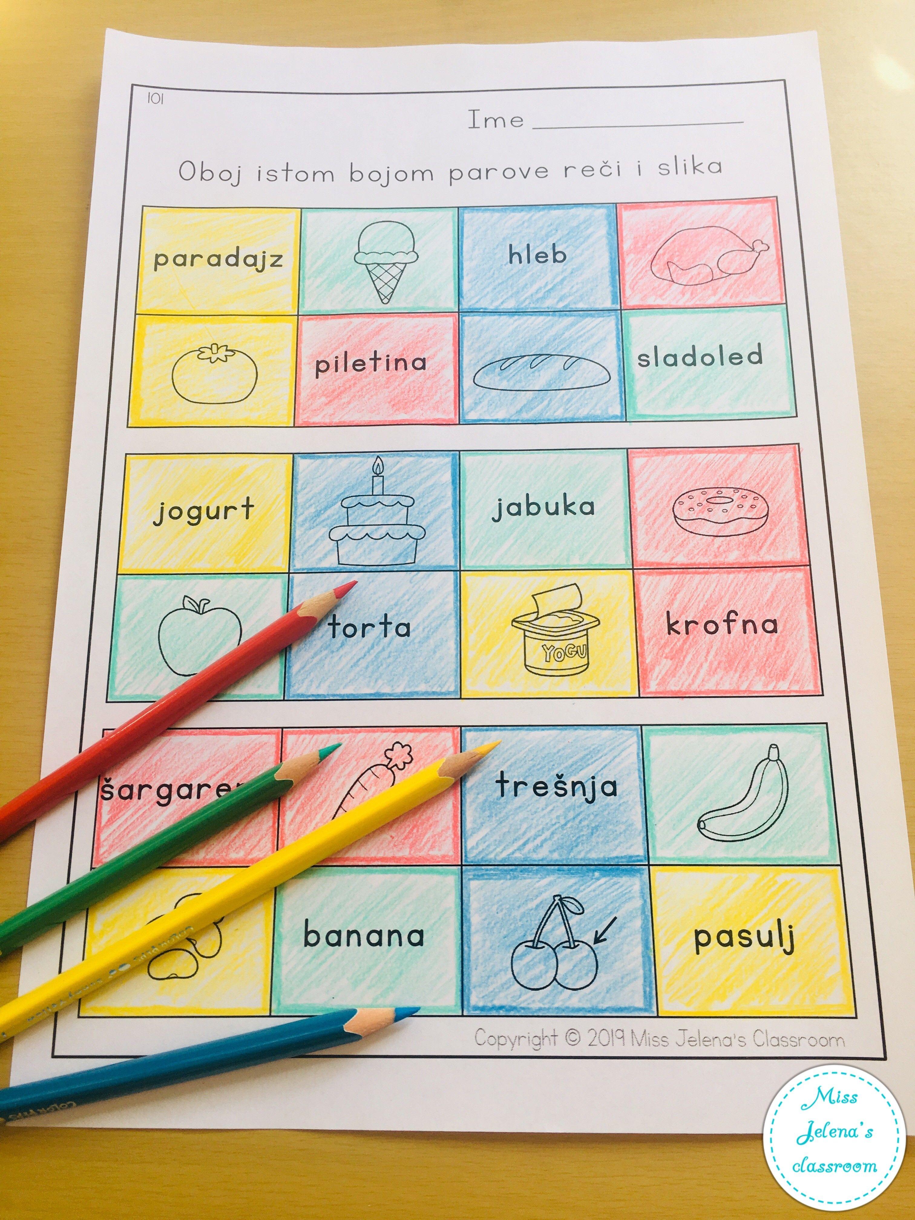 Pin By Miss Jelena S Classroom On Foreign Languages