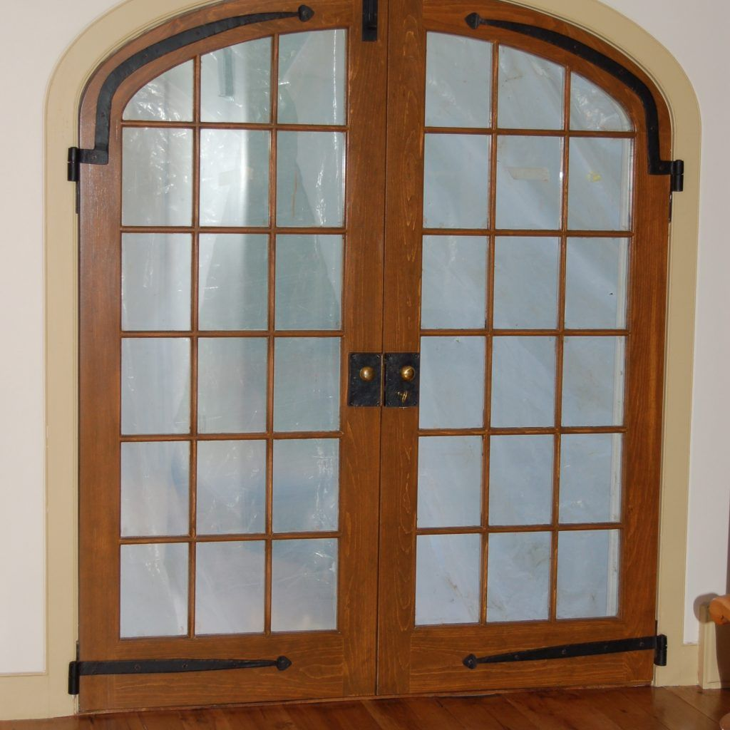 Window · Interior French Double Doors With Frosted Glass