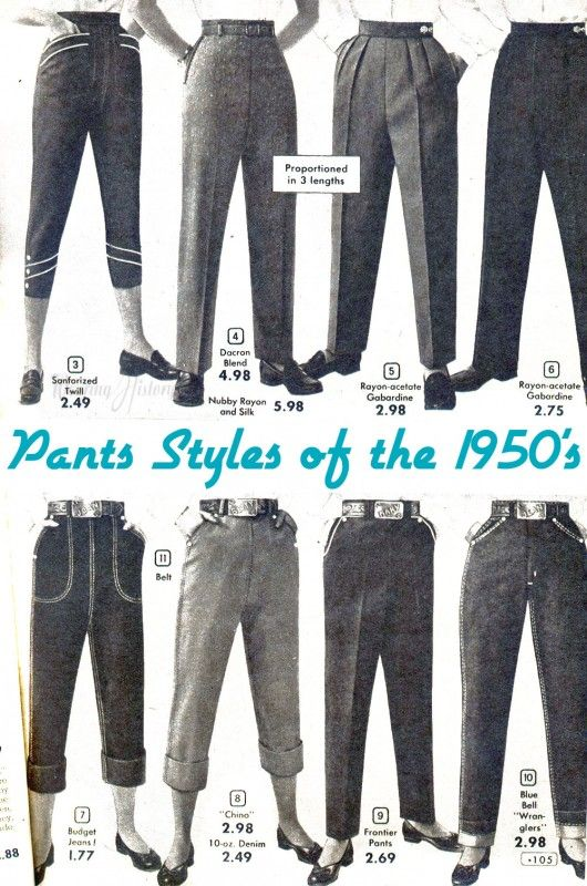 7a6999f2d1d71 A Primer  1930 s-1950 s Trousers   Pants For Women – Wearing History® Blog