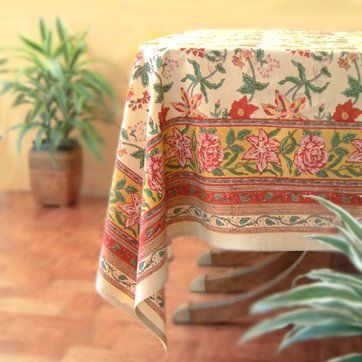 Our Colorful Floral 70 And 90 Round Tablecloth Profoundly Captures The  Experience Of Standing In A Tropical Garden On A Brilliant Summer Day.