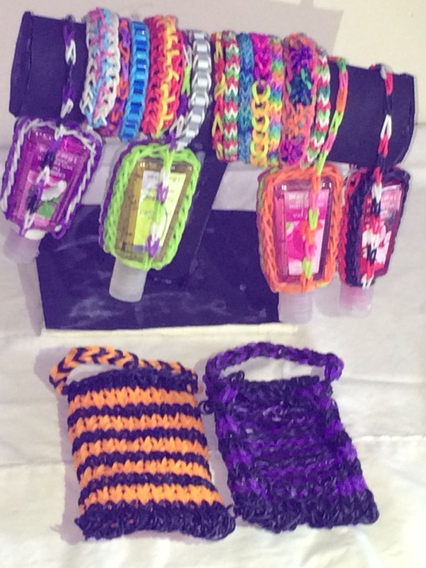 Santizer cases,bracelet,and phone case