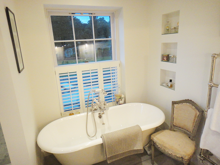 Bathroom Windows London cafe style #shutters#plantationshutters london uk | kimberly