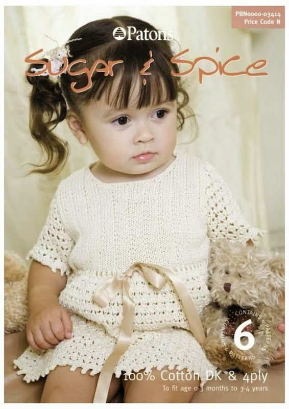 Patons 3414 – Sugar and Spice | Books, magazines - Crochet ...