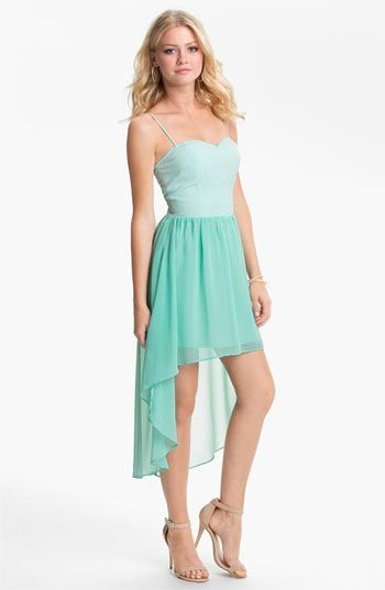 948e44a7a25 Sky blue dress  short in front long in back!!! Too cute!!