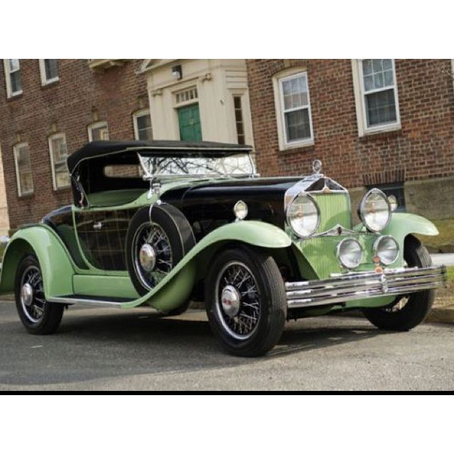 1930 Willys-Knight Great Six Plaid-Side Roadster- Willys