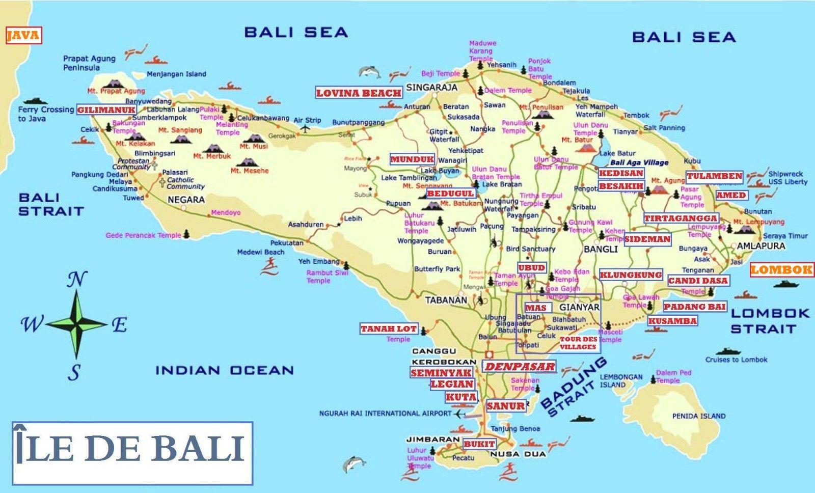 Carte Bali Lombok Gili.Carte Bali Lombok Cosprocare