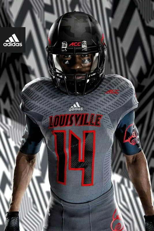 buy online 7c3e4 ae93f New Louisville Cardinals football uniforms | Jersey's ...