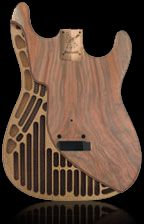 warmoth stratocaster chambered bodies uniquely engineered honeycomb like chambers for a. Black Bedroom Furniture Sets. Home Design Ideas