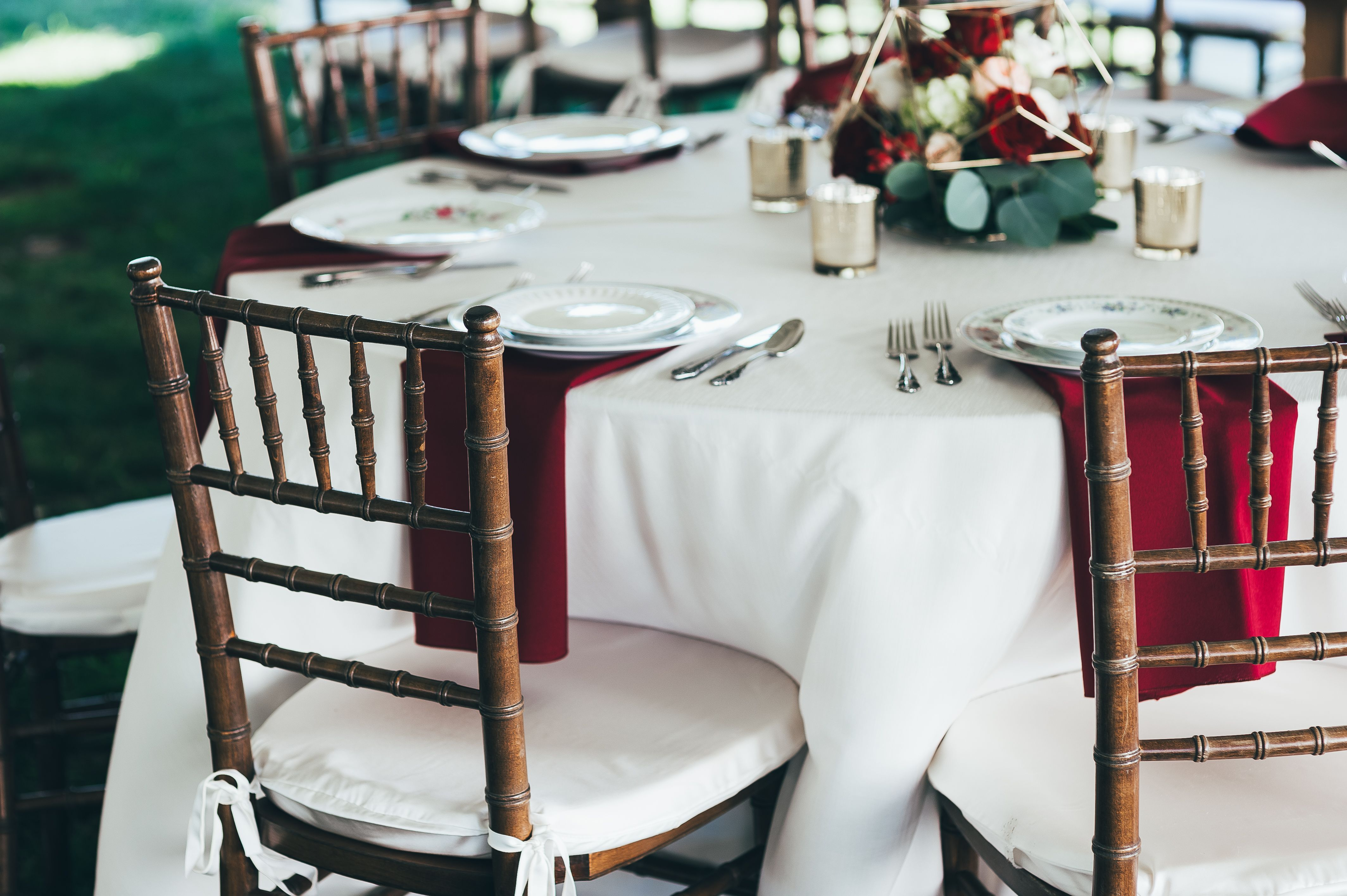 Wedding decorations for house  Reception details Wine and blush wedding decor  The house and
