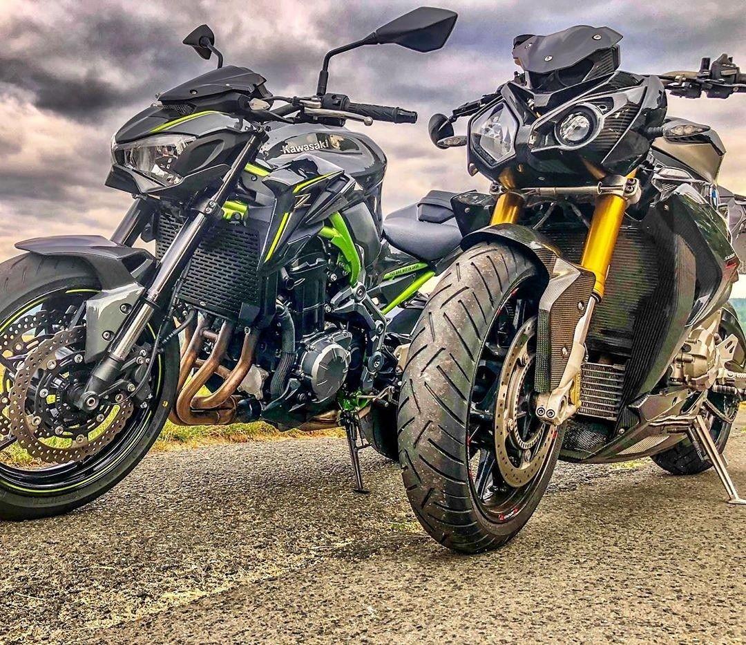 Kawasaki Z900 Et Bmw S1000r In 2020 Kawasaki Bmw Moto