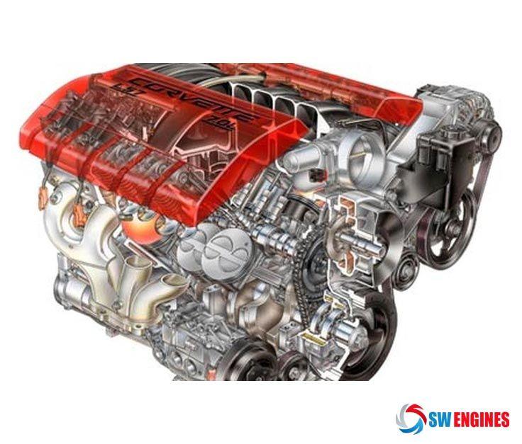 2006 chevrolet corvette z06 v8 engine swengines v8 engines rh pinterest com