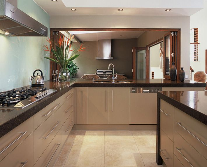 Contempory Kitchen Design Brisbane Marble Benchtops Traditional Country With Natural