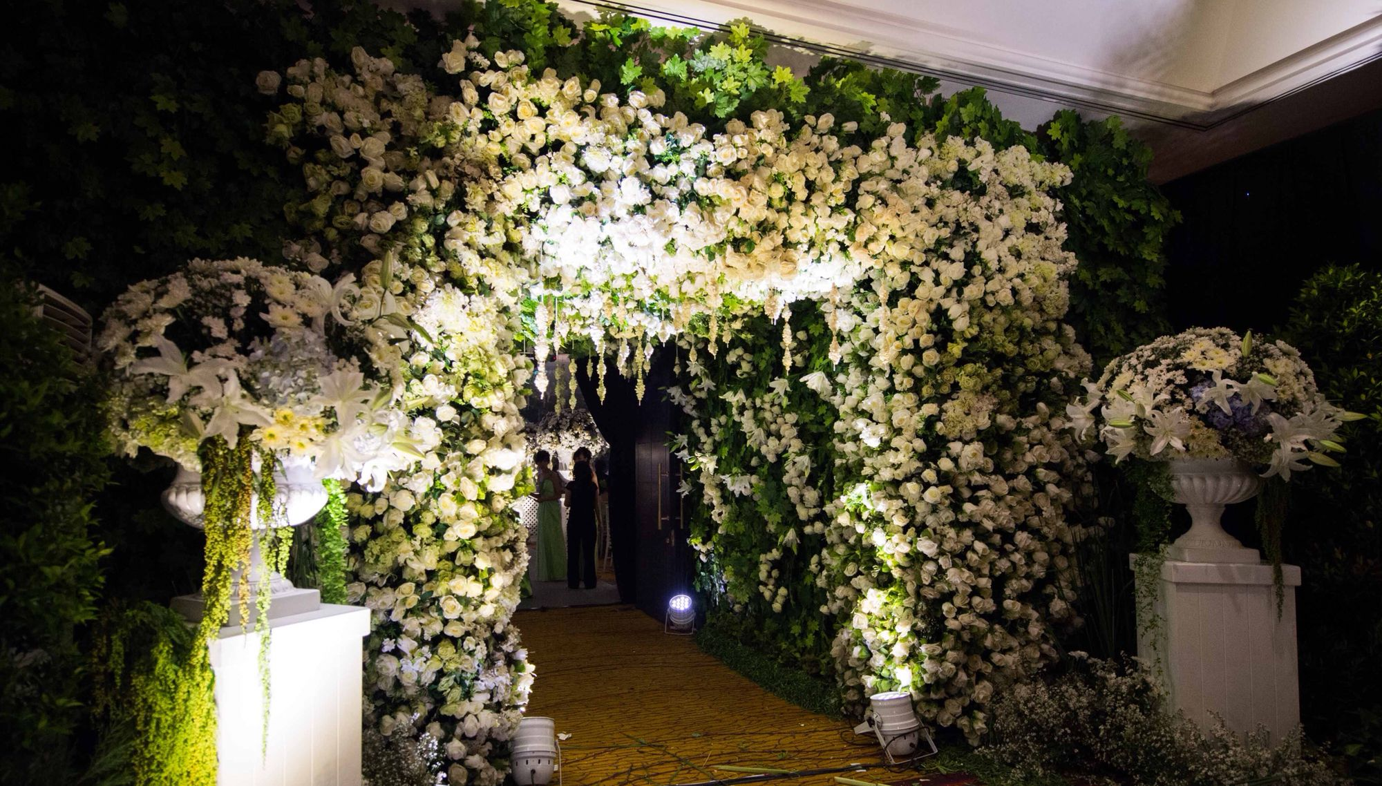 Wedding gate and stage decoration  Wedding gate  Party  Pinterest  Weddings