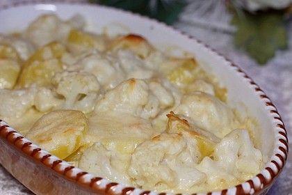 Blumenkohl-Kartoffel-Auflauf #tortelliniauflauf