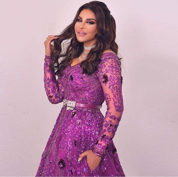Ahlam Elshamsi In Soiree Dress Designed By Zuhair Murad Soiree Dress Fashion Long Sleeve Dress