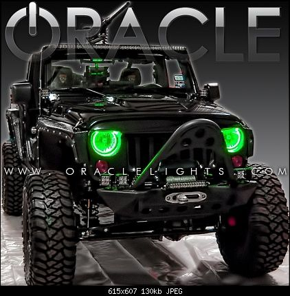 Awesome Jeeps Awesome Halo Headlights For Jk Jeep Wrangler Forum Jeep Wrangler Jeep Wrangler Jk Jeep Truck