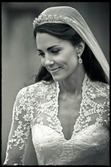 Kate Middleton on her wedding day....The Duchess of Cambridge