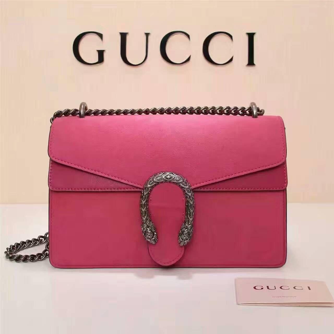 856eda84aec Gucci Dionysus suede shoulder bag 400249-1 size 28x18x9cm G4  whatsapp +8615503787453