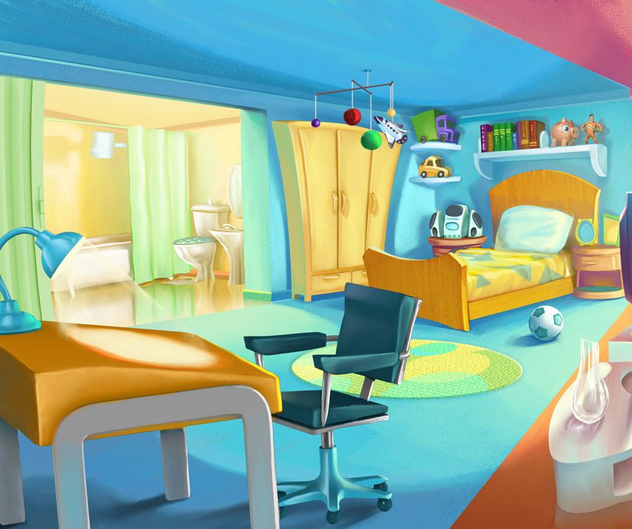 1 Bedroom Apartment Decorating Bedroom Ceiling Art Images Of Bedroom Paint Ideas Bedroom Background Cartoon: Environment Concept Art, Animation Background