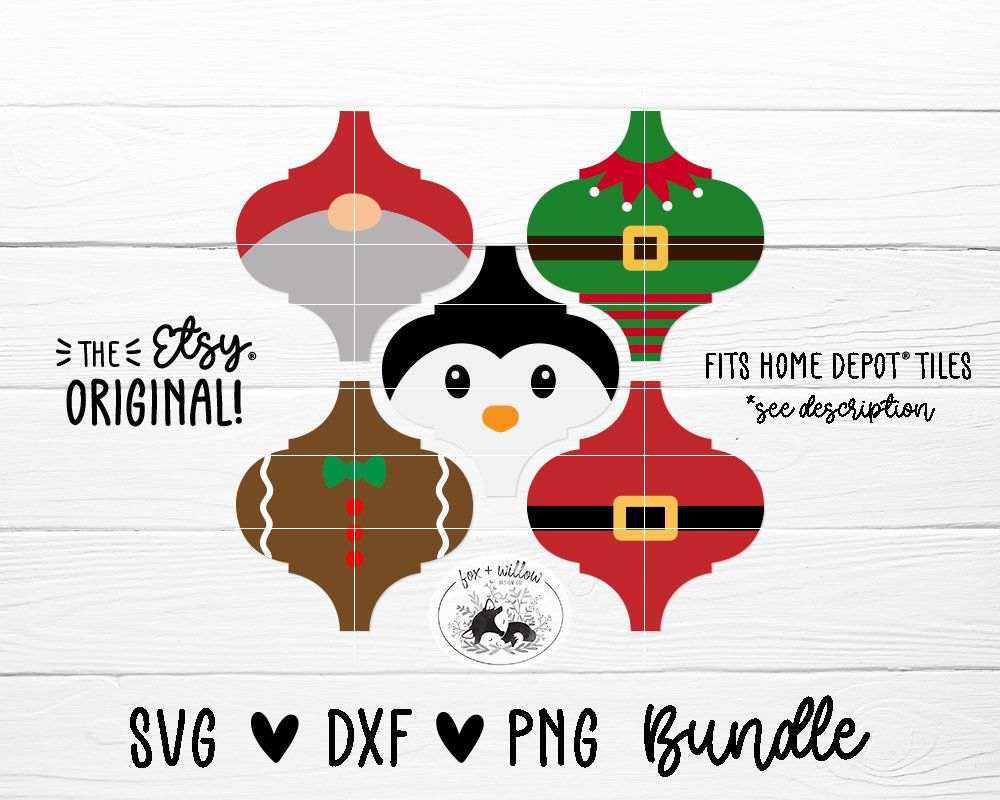 Tile Christmas Ornament Svg Bundle Arabesque Lantern Shape Etsy In 2021 Christmas Ornaments Ornament Template Christmas Crafts
