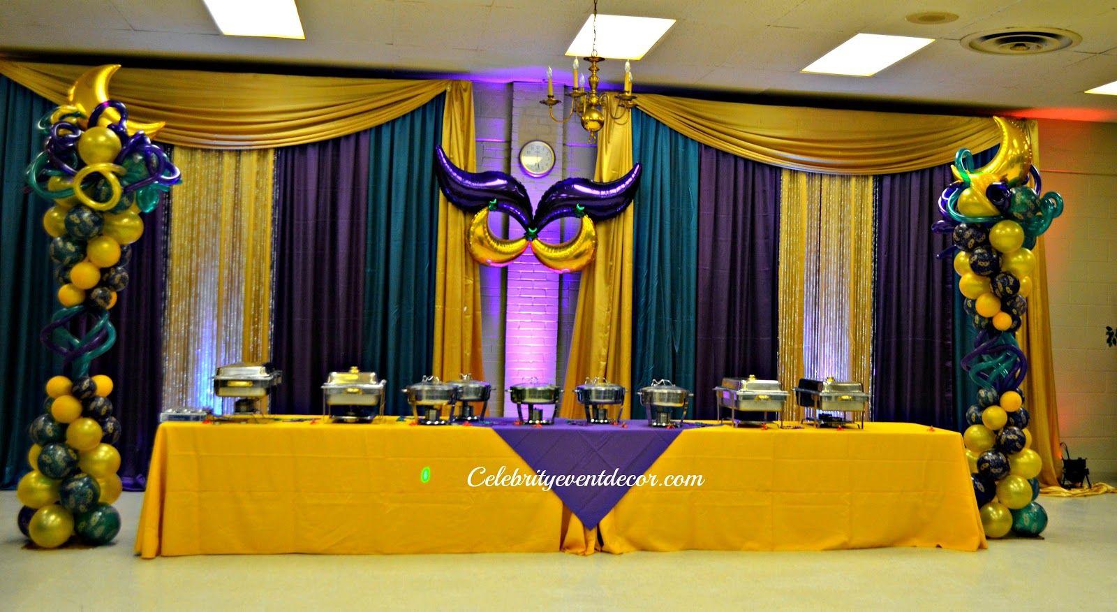 Celebrity Event Decor & Banquet Hall, LLC: November 2012 | Mardi ...