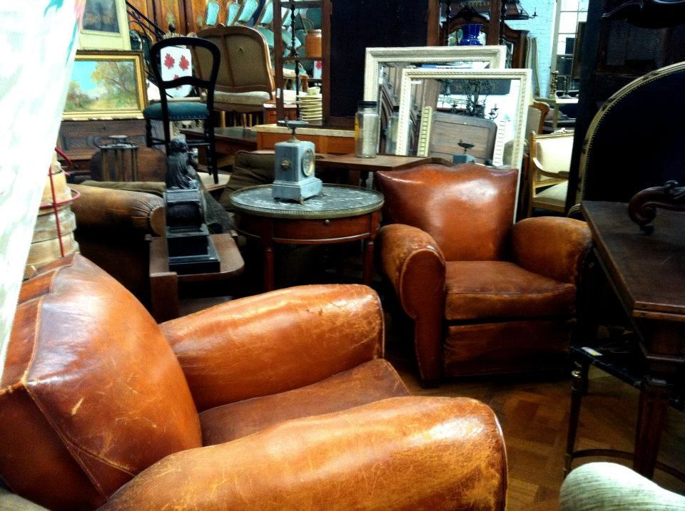Gorgeous Leather Chairs #man #cave