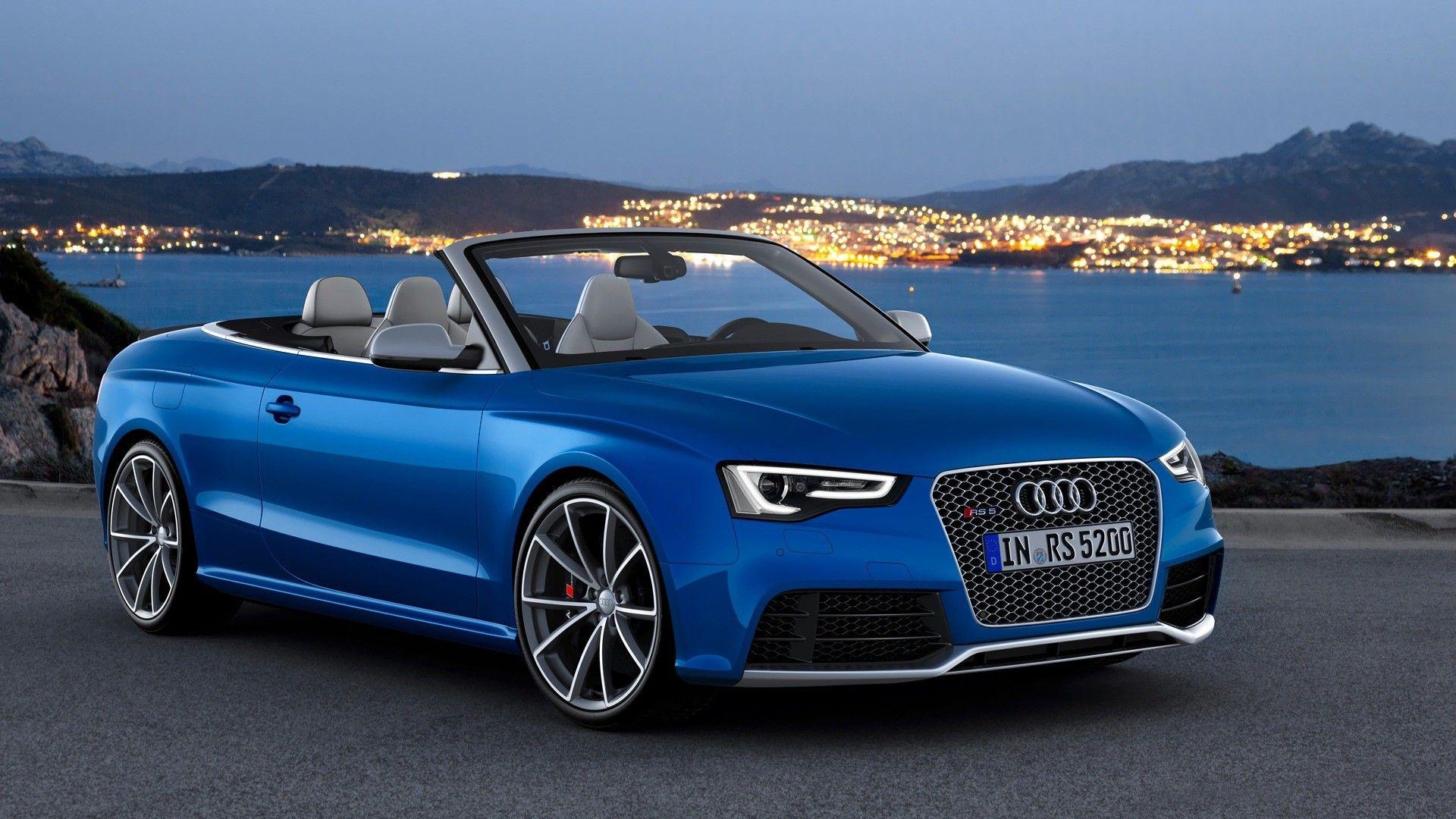 Beautiful Blue Audi Car At Sunset Hd Auto Wallpaper Audi Cars