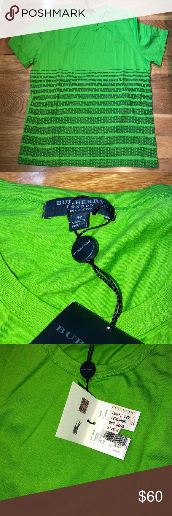 100 authentic Burberry Tshirt NWT