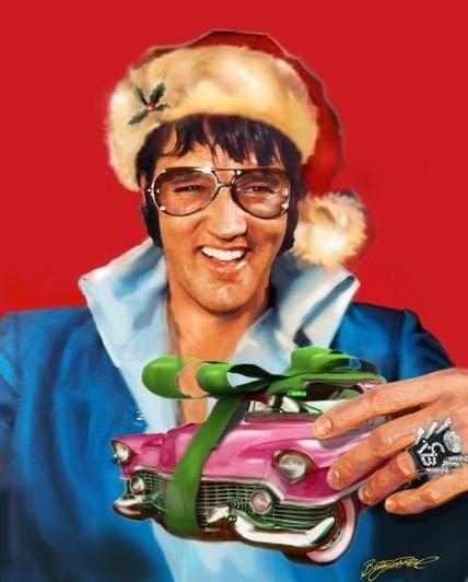 """elvisanddenise: """" Merry Christmas Baby """""""