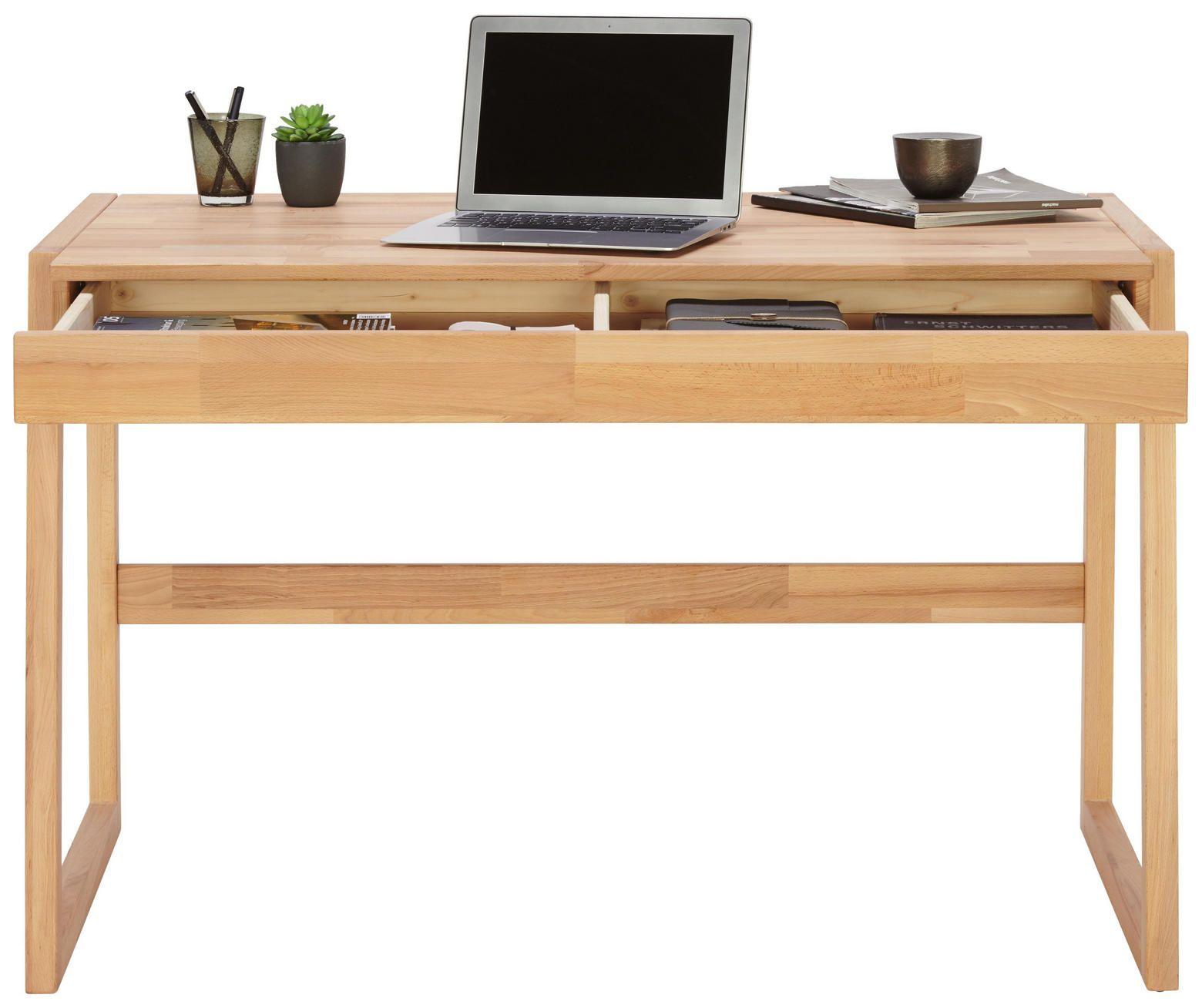 Schreibtisch Aus Kernbuche Massiv Mit Schublade Schreibtisch Holz Schreibtisch Schubladen