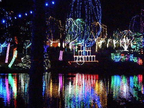The Columbus Zoo Wildlights Display Columbus Zoo Zoo Lights Columbus Ohio Zoo