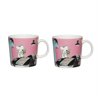 Håll Sverige Rent Moomin mug from Arabia is produced in collaboration with the Swedish environmental organization Håll Sverige Rent. The exclusive Moomin mug is sold in a limited edition and can only be purchased by Swedish resellers.