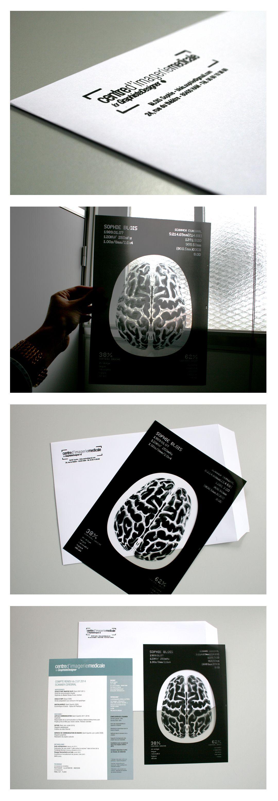Centre Dimagerie Medicale For Graphiste Designer Carte De Visite Design Graphique